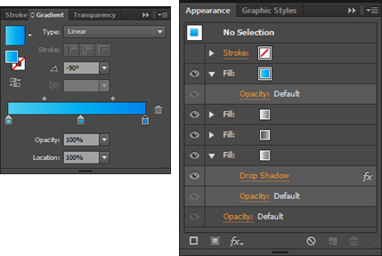 Adobe Illustrator Tutorial -  Create a Glossy Play Icon in Adobe Illustrator
