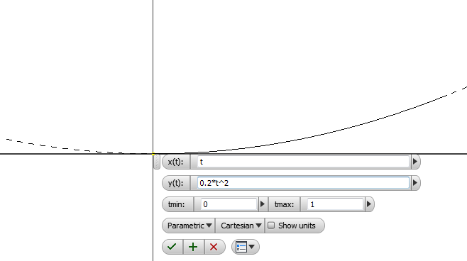Autodesk Inventor Tutorial - Using Equation Curve tool