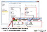 Customize Quick Access Toolbar in Microsoft Excel II Training Melaka Puchong Selangor